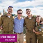 Israel participants on Birthright Israel (Photo by Ben Judelson, 2018 alumnus)