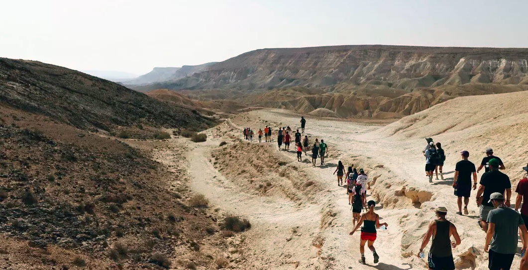 Hiking in the Negev 2018