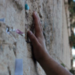 Praying at the Kotel in Jerusalem