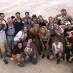 Group at the top of Masada in 2018