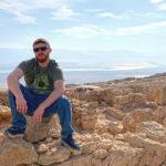 Ben Gelassen on Masada, 2018