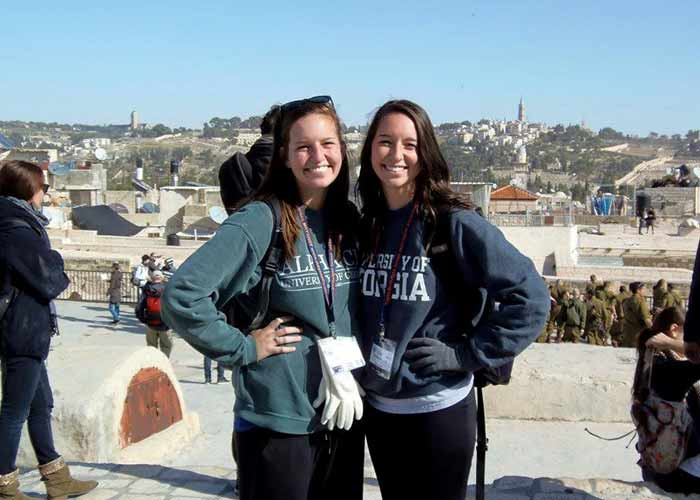 Brittany in Jerusalem on Birthright Israel
