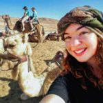 Selfie with Camel in the Negev, 2018