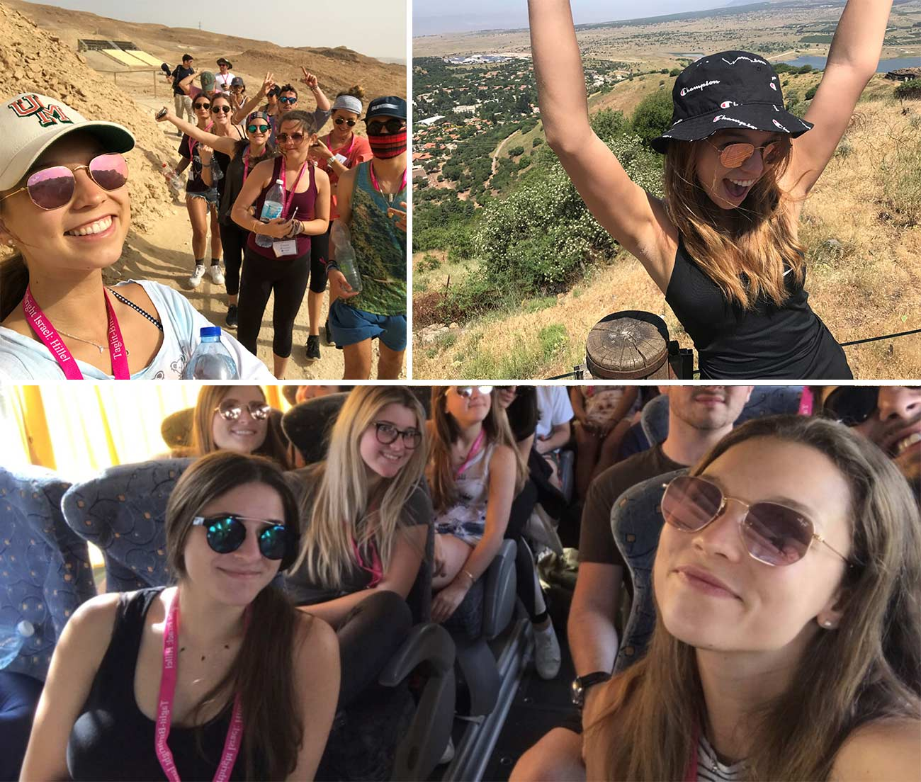 Photos of Casey in Israel