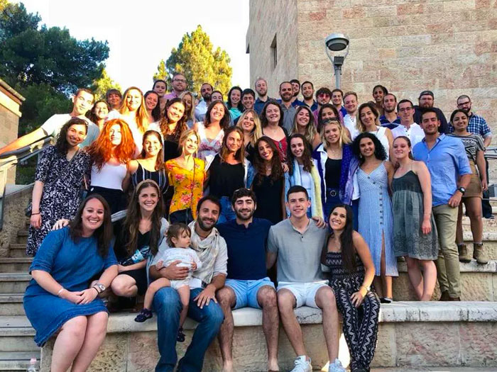2018 New Jersey Birthright Israel Group