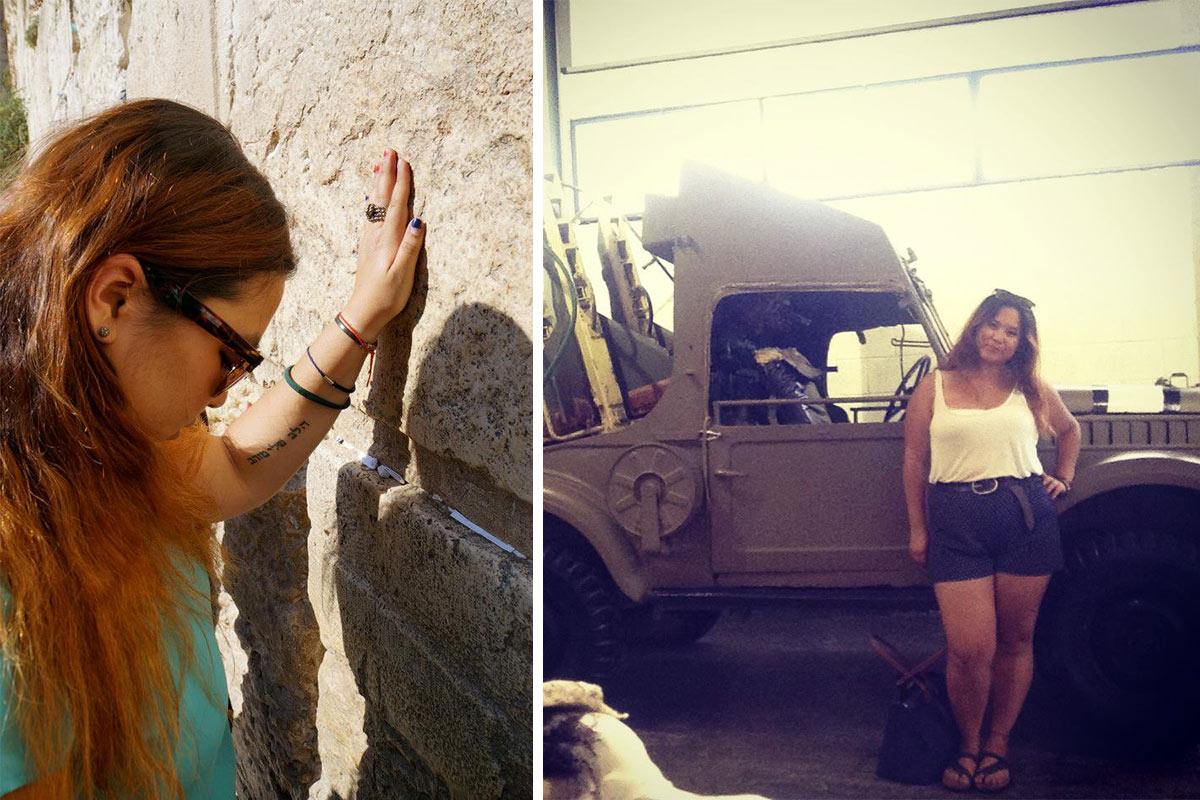 Amy on Birthright Israel