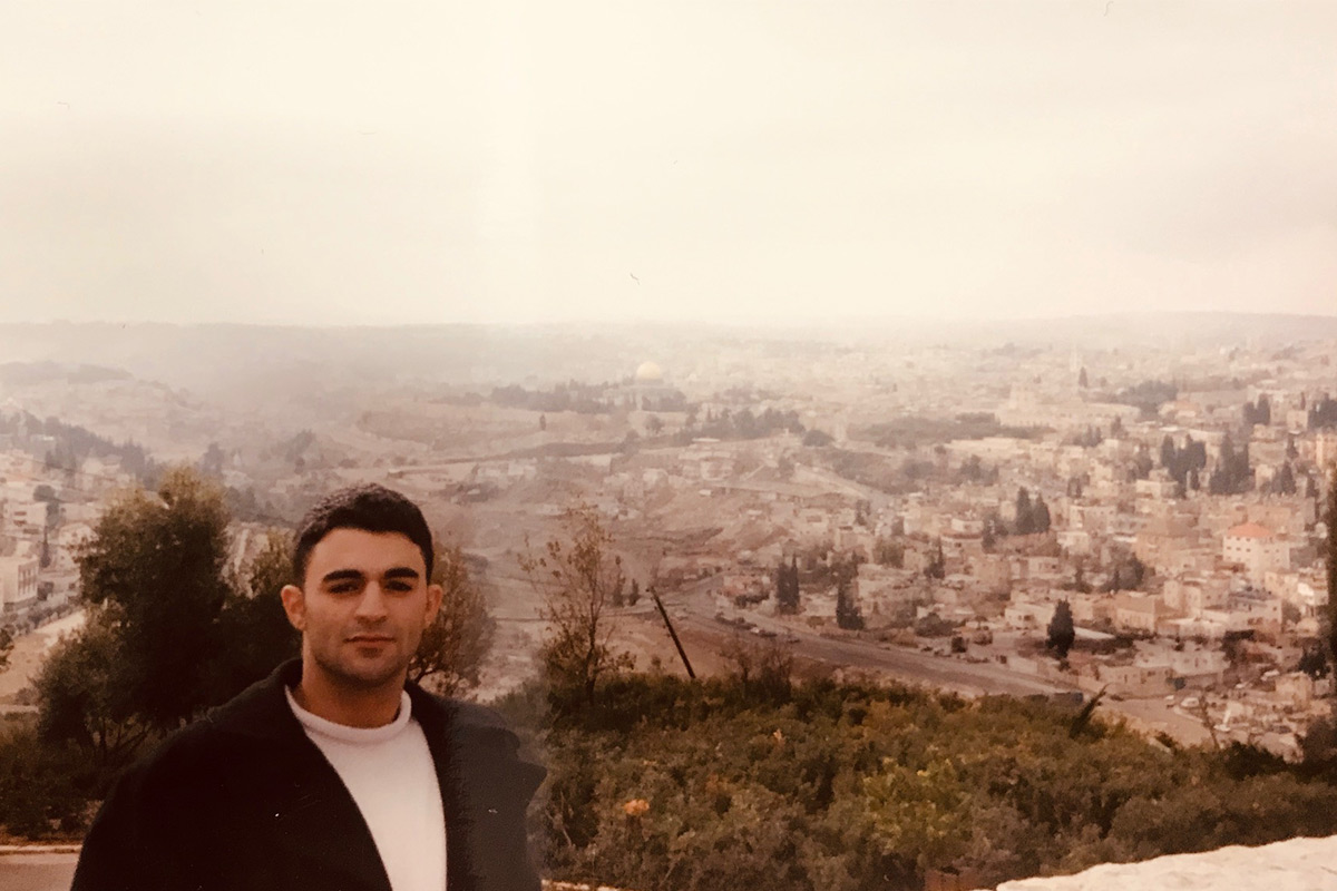 Daniel on Birthright Israel, 2000