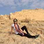 Holly on her Birthright Israel trip