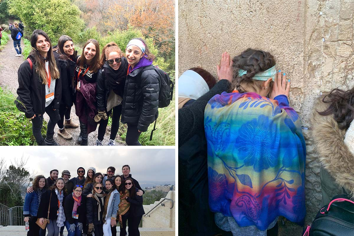 Photos of Holly on her Birthright Israel trip