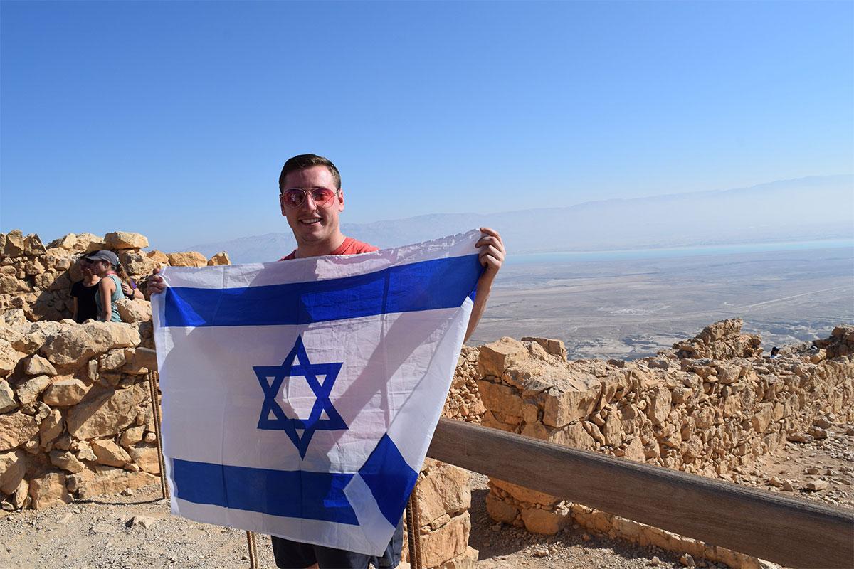 Samuel on top of Masada
