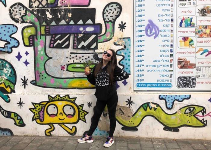 Heather in Tel Aviv