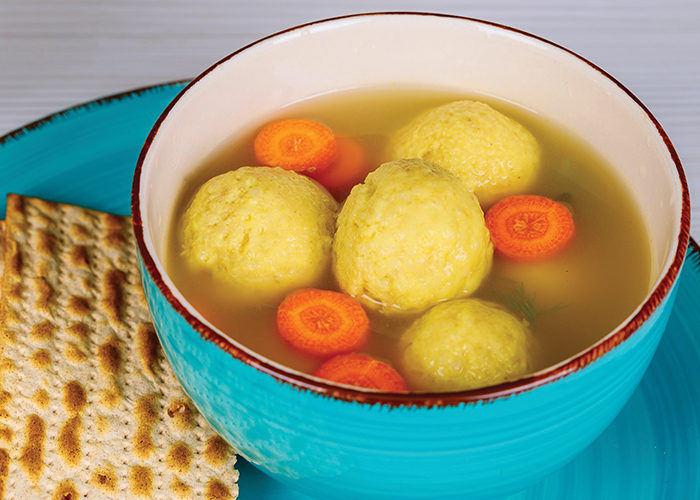 Rachel Belle Matzo Ball Soup