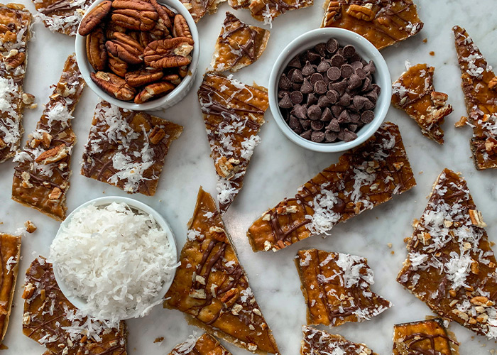 Matzo Brittle by Everything Erica