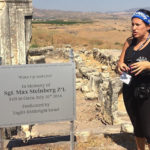 Rachel staffing Birthright Israel