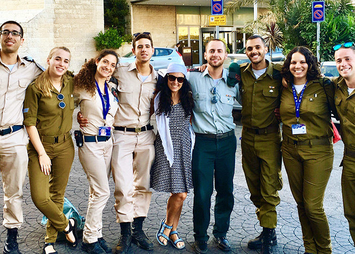 Eve with Mifgash on Birthright Israel