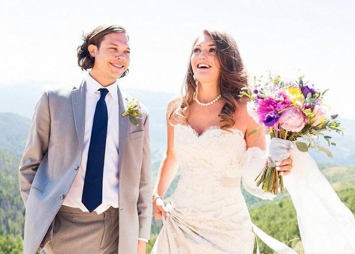 Jenna and her husband Braden
