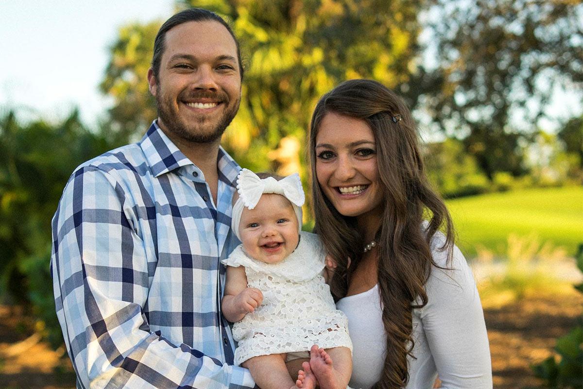 Jenna, Braden and Kaia