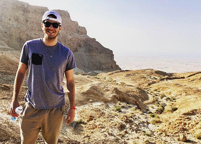 Samuel Meller in the Negev