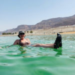 Rachel Kessler in the Dead Sea