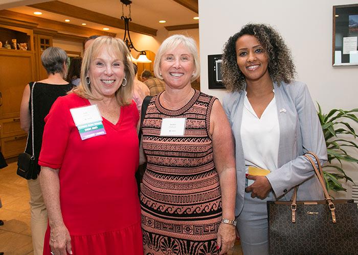 Lori Komisar and Sandra Kiferbaum in Winnetka, IL
