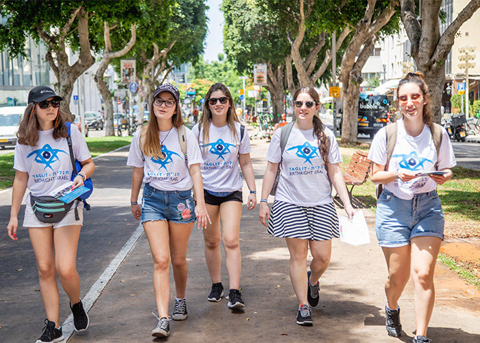 Girls on Birthright Israel