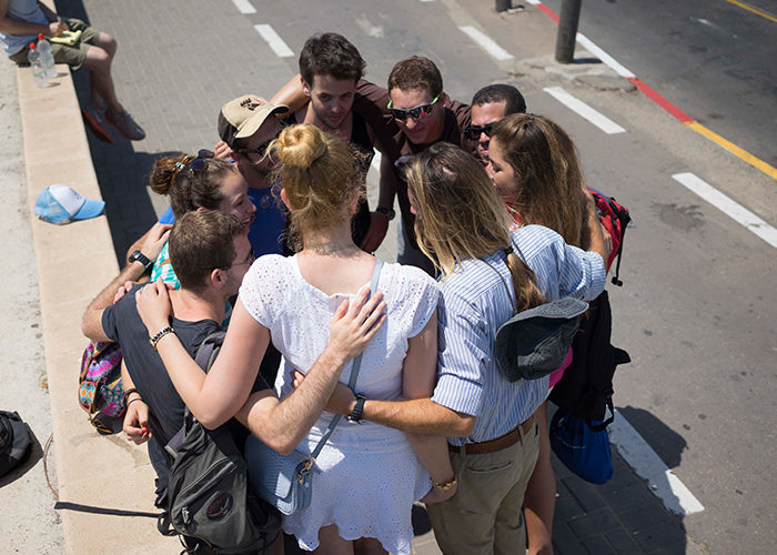 Birthright Israel participants