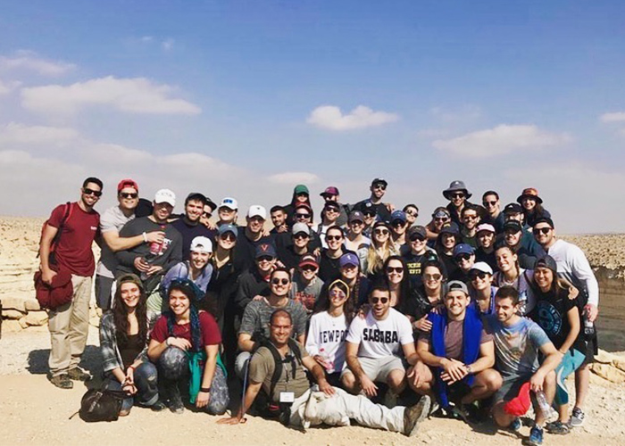 Max's Birthright Israel group