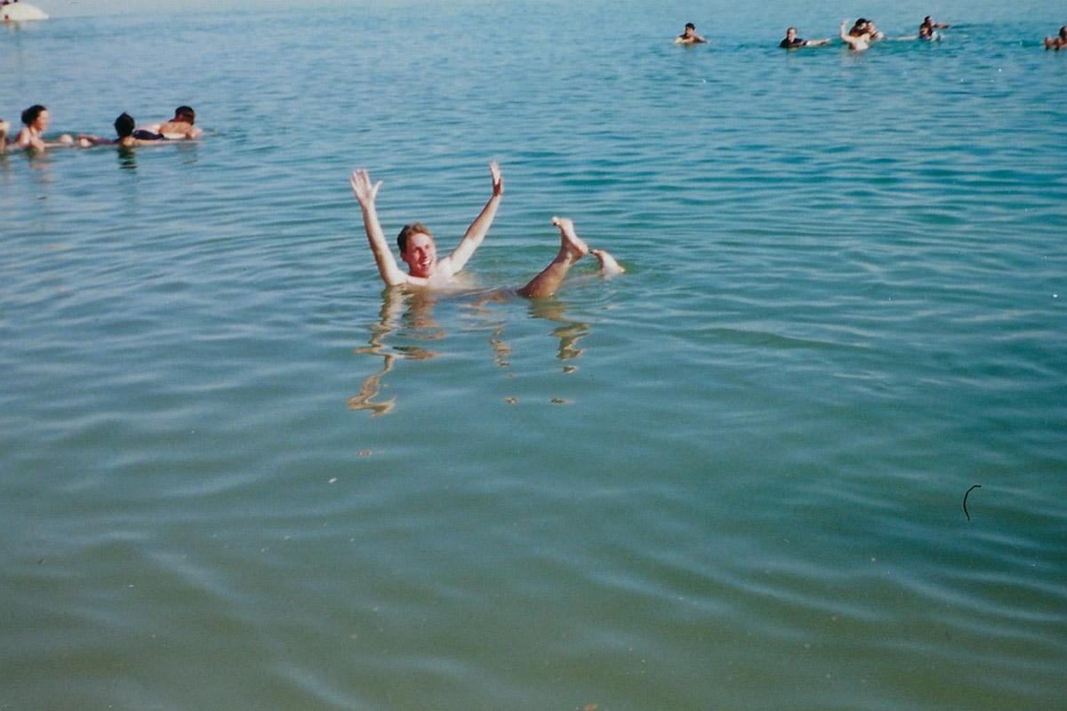 Jason in the Dead Sea