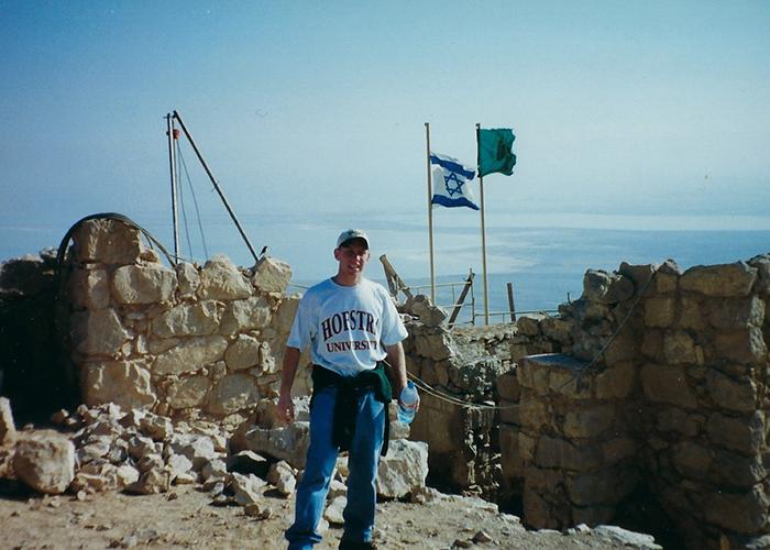 Jason on Masada