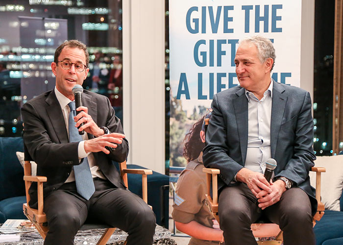 Jeff Blau,CEO of Related Companies, and Dan Doctoroff, Chairman and CEO of Sidewalk Labs