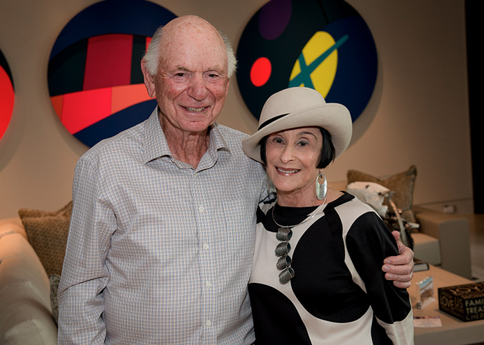 Andrea & Mike Leven at their home in Boca Raton