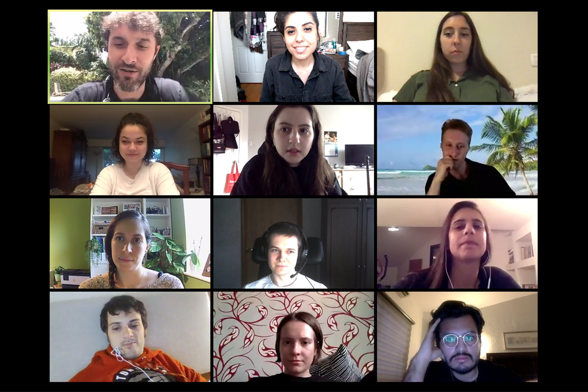 Birthright Israel Connect participants