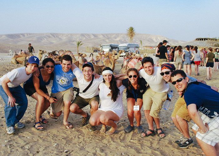 Laura and her Birthright Israel group