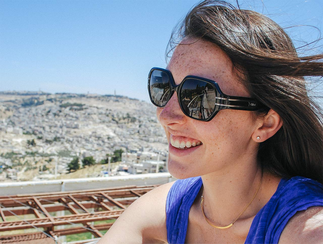 Laura in Jerusalem