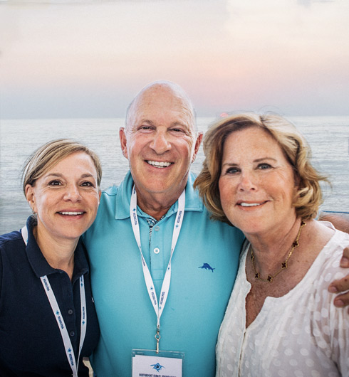 Parents on Birthright Israel Foundation's 18th Anniversary Mission to Israel in 2018