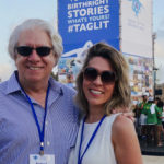 Robert & Kristen Clarfeld at a Birthright Israel Mega Event concert