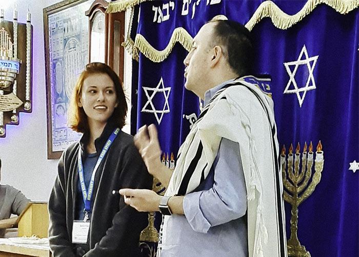2020 Birthright Israel alumna Sabrina Karlin's Bat Mitzvah at 23 years old