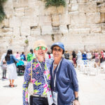 Birthright Israel Foundations donors standing at The Western Wall