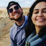 Mifgashim Liora Mara and Guy Richards in the Negev on their Birthright Israel Trip