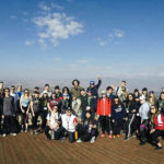 Haley Abruzzese's Birthright Israel group in 2016