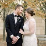 2016 Birthright Israel alumni Jordan & Matthew Callman on their wedding day