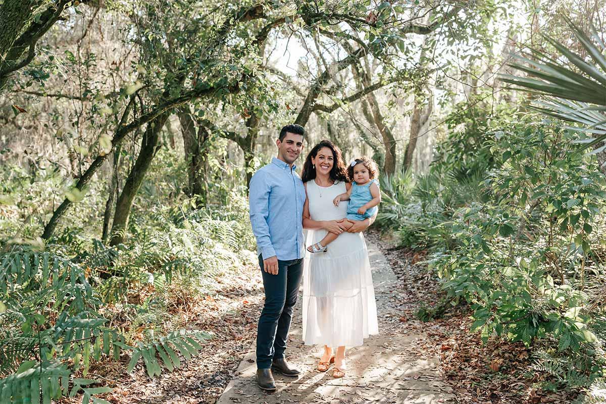 Ilya Aylyarov and his family in Boynton Beach, FL