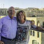 Birthright Israel Foundation donors Harriet & Ed Levine in Jerusalem