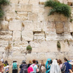 Birthright Israel particiations at the Western Wall
